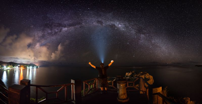 Milky way, Mauritius, travel Milky way in Mauritiusphoto preview