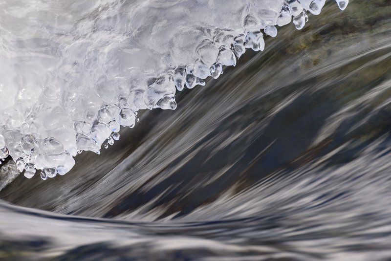 Поток и лёдphoto preview