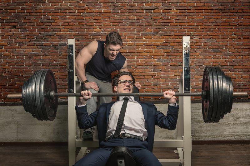 Спорт, сила, зал, мотивация, спортзал .photo preview