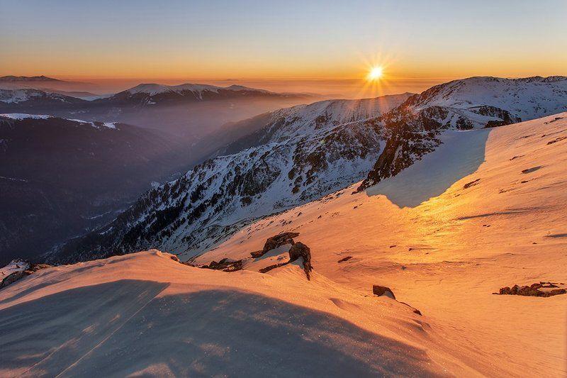 болгария, закат, горы,  Рилаphoto preview