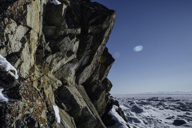север, Магадан, море, прогулка, припай Зимнее теплоphoto preview
