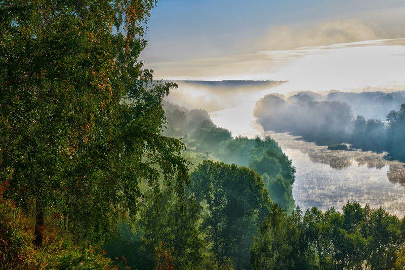 Рассвет, лето, пейзаж Августphoto preview