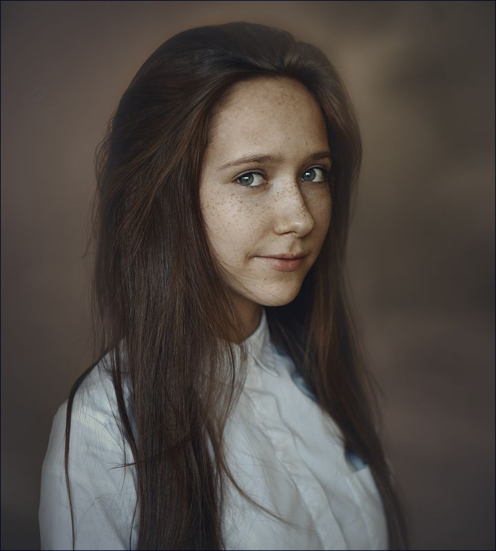 портрет Спонтанный портрет.photo preview