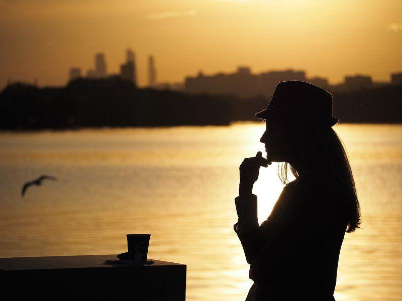 Кофе на набережной.photo preview