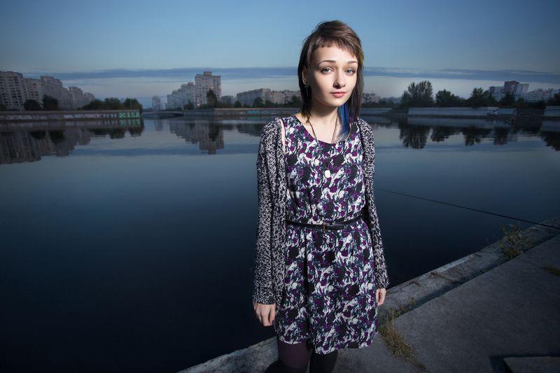 портрет, девушка Эляphoto preview