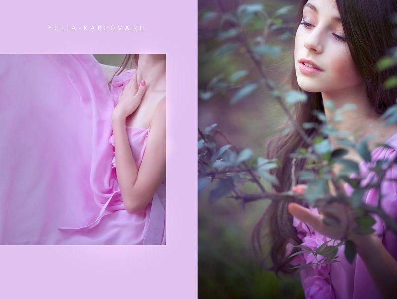 portrait, spring, girl Anastasiaphoto preview