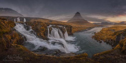 Водопад у Церковной Горы