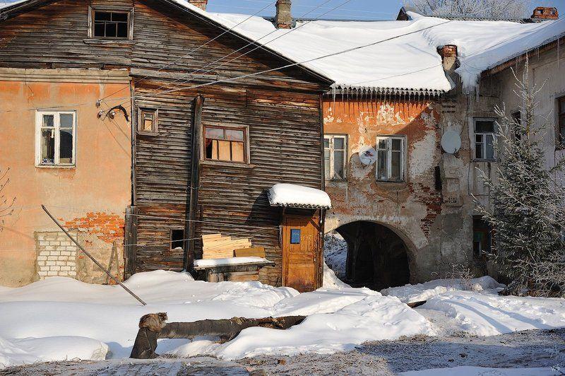 углич, город, двор, зима Дворphoto preview