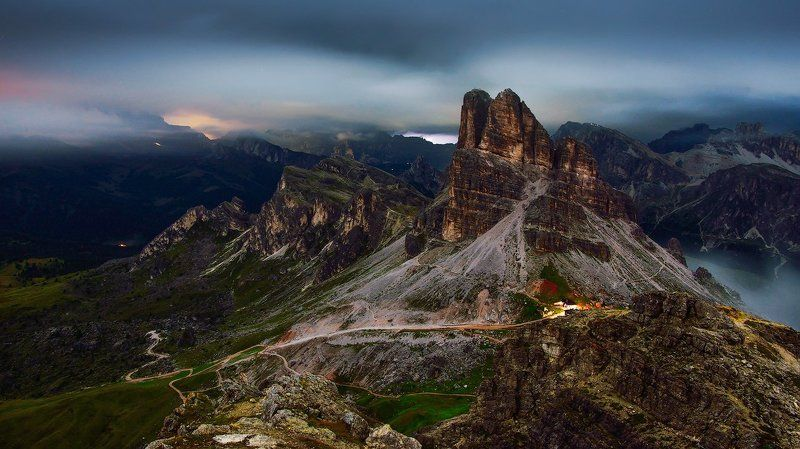 Dolomites by nightphoto preview