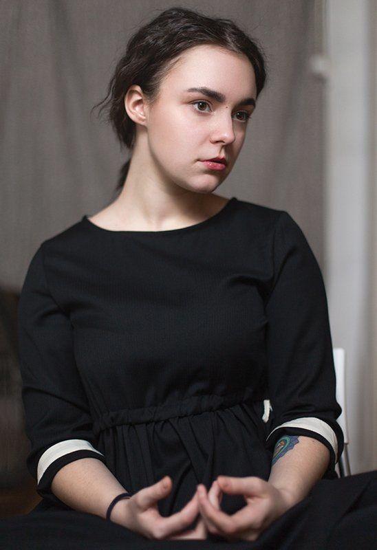 портрет, девушка Юля Джоконда photo preview