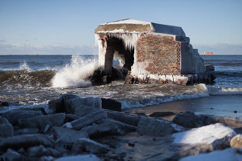 Балтийская коса, Балтийское море, Калининградская область Балтийская косаphoto preview