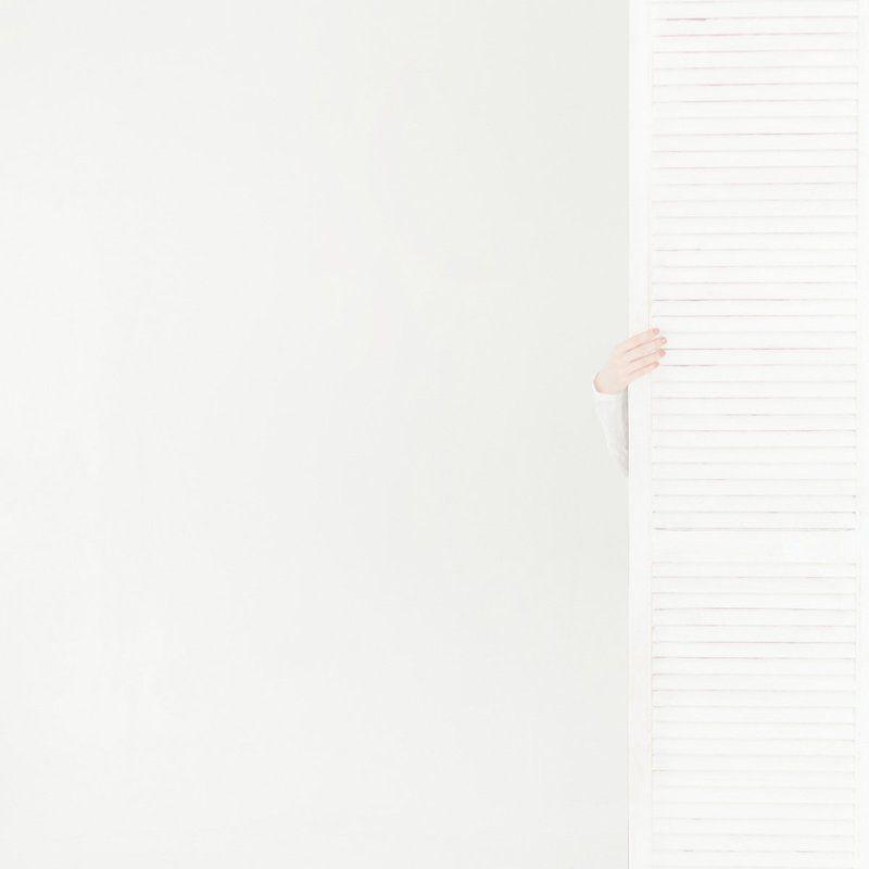 minimalism, white white stripe (II)photo preview