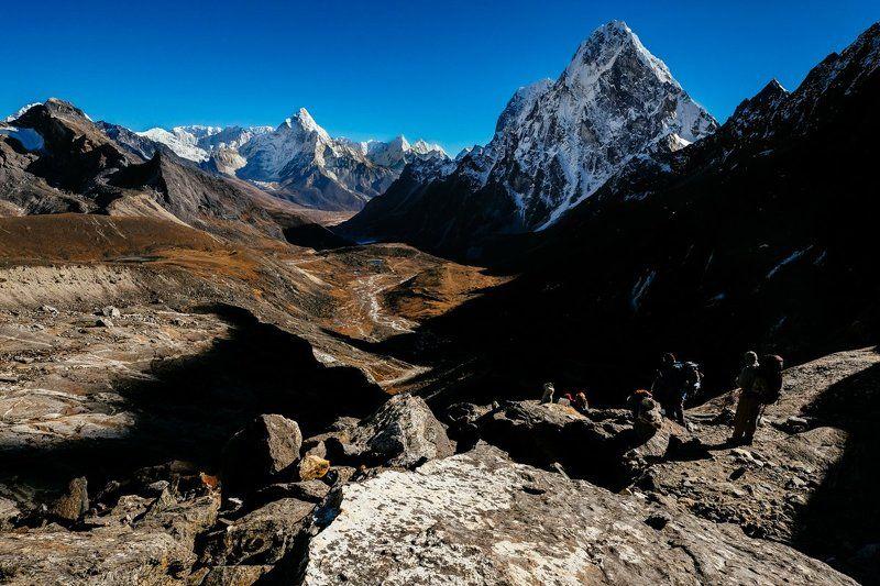 Непал, Чолатзе, долина, поход, треккинг Навстречу долинеphoto preview