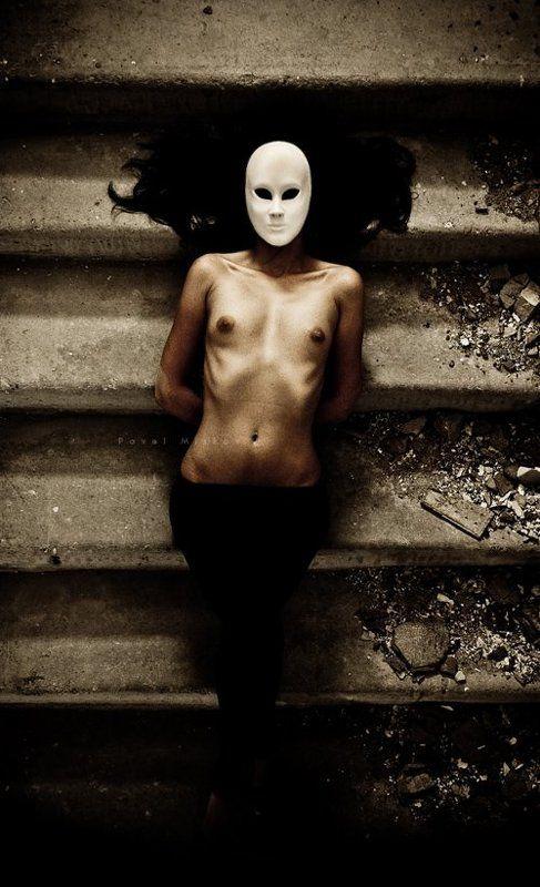 маска, лестница, ступеньки maskphoto preview