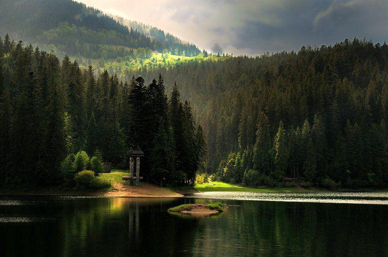 озеро, синевир, карпаты Синевирphoto preview