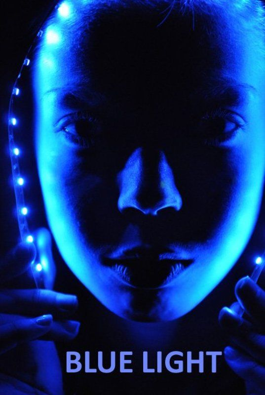 голубой, свет, аватар Blue Lightphoto preview