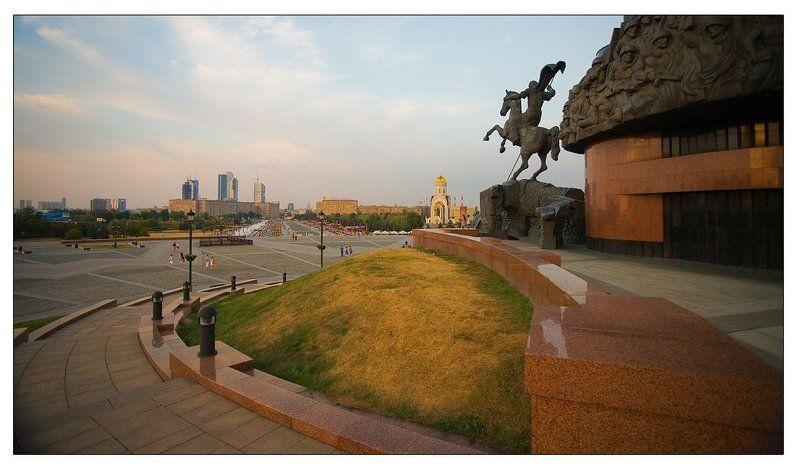 парк, победы, поклонная, гора Стражник городаphoto preview