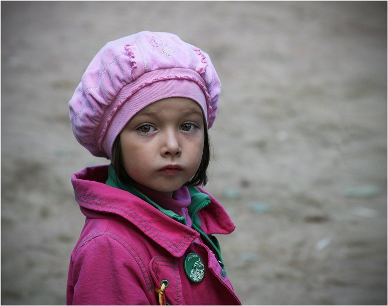 девочка, парижанка, взгляд, ребенок, дети Парижанка.photo preview