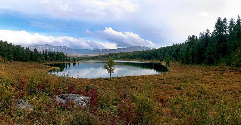 озеро Кеделю Горный Алтайphoto preview
