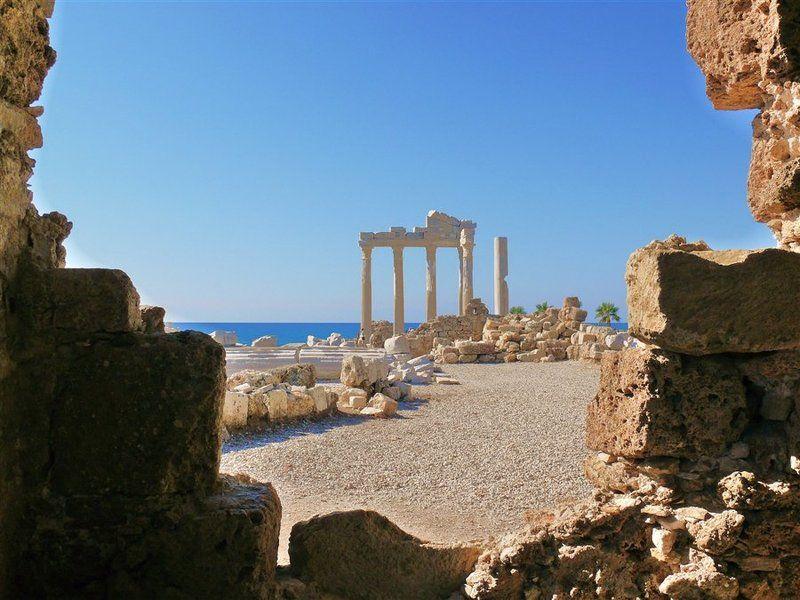 храм, аполлона, сиде, турция Окно в историюphoto preview