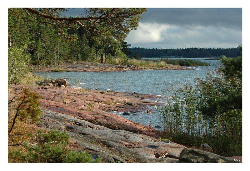 аландские острова, озеро, финляндия Norro ... (Alands..)photo preview