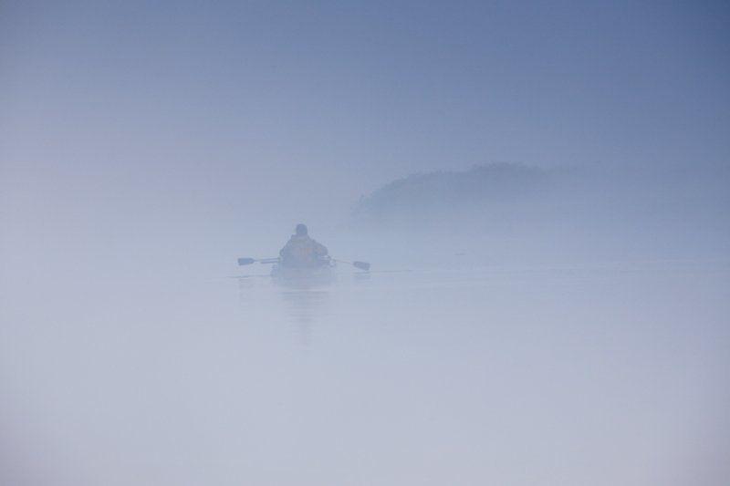 В тумане я обрел покой.photo preview