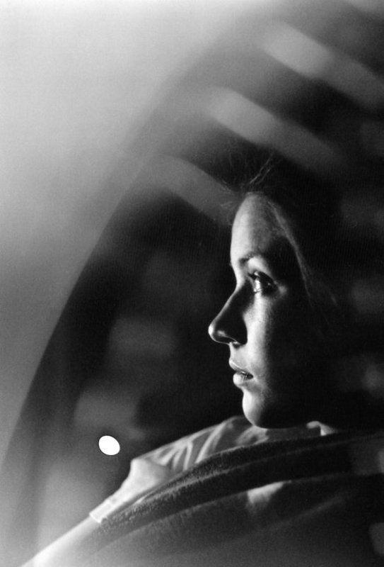 портрет, ночь, черно-белое, пленка midnightphoto preview