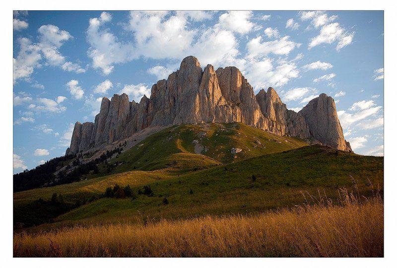 большой, тхач,утро,горы Большой Тхачphoto preview