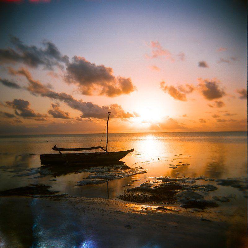 zanzibar, sunrise, film Zanzibar at duskphoto preview