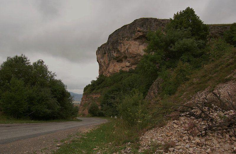 дорога, горы, пейзаж, небо,природа ...поворот...photo preview
