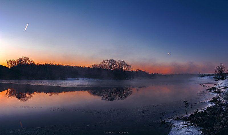Рассвет. река Чусоваяphoto preview