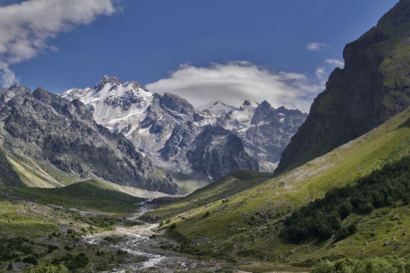 Безенги.Северный Кавказ.photo preview