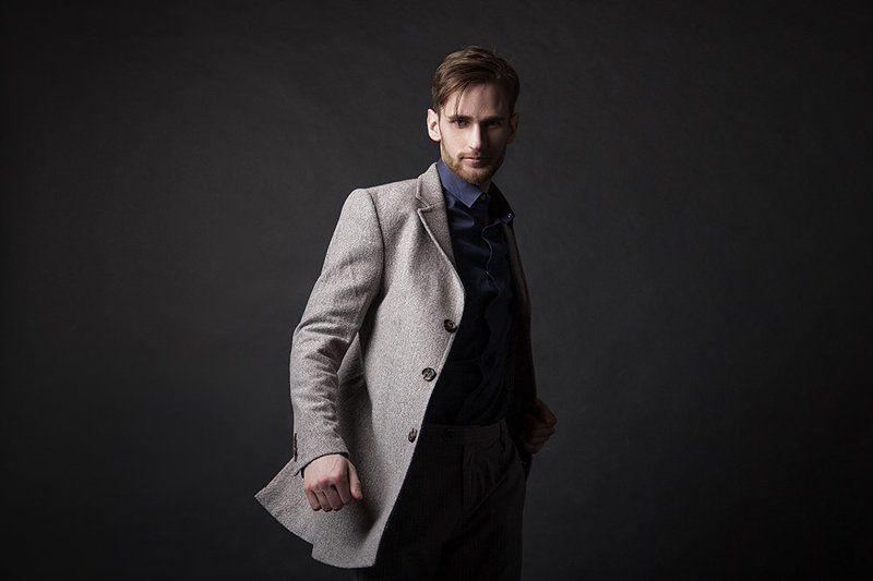 портрет, мужской портрет, студийный портрет VERGILphoto preview