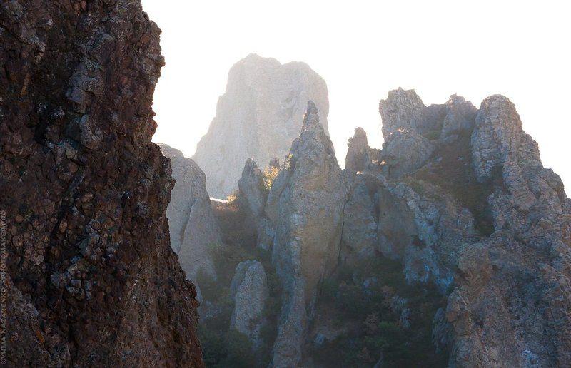 пейзаж, крым, горы, скалы, мертвый, мёртвый, город, природа, landscape, кара-даг, crimea, nature, mountains, rocks Кара-Дагphoto preview
