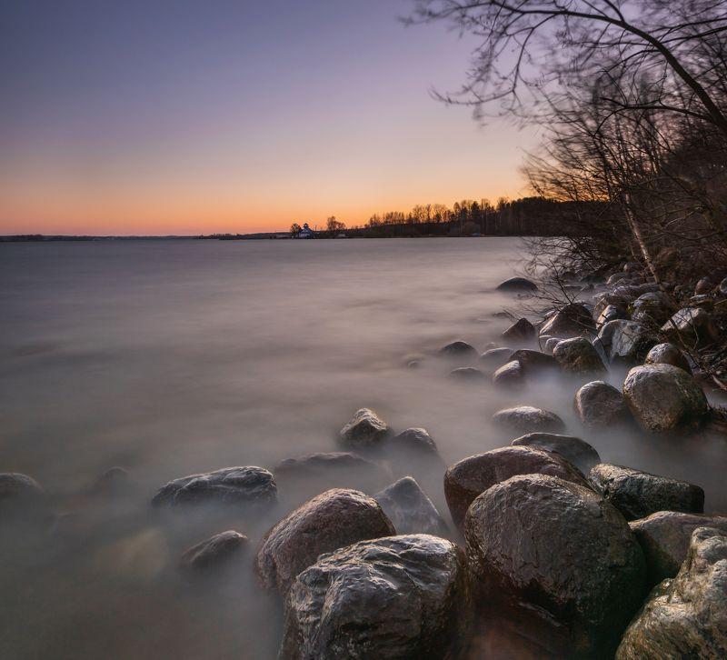 минское море. штатив, лютый ветер и мокрые по колено ноги.. За несколько минут до...photo preview