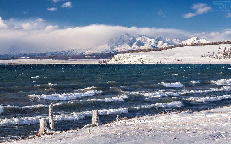 монголия, хубсугул, горы Озеро Хубсугулphoto preview