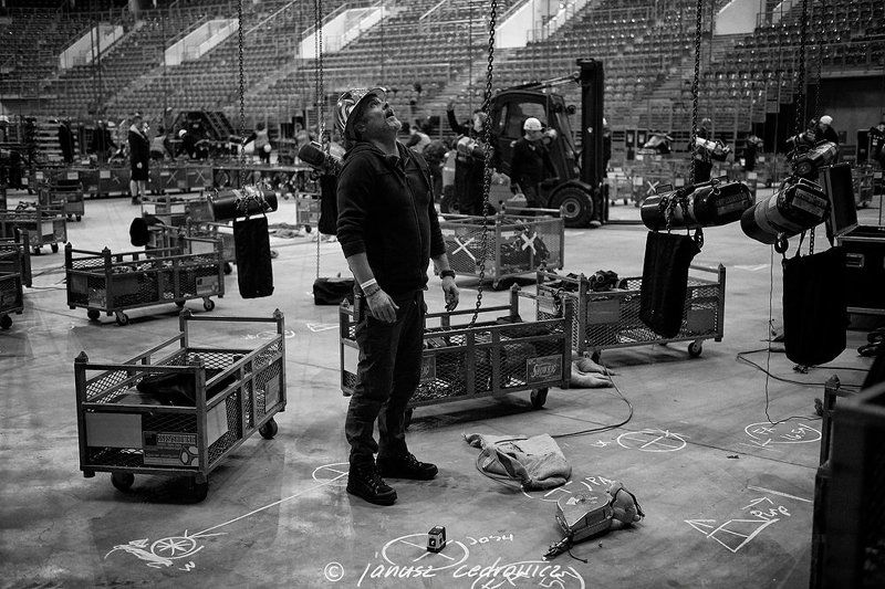 rigger, riggers, rigging, concert, show, gig, art, music, silesia, team, high, worker, height, riggers make a gigphoto preview