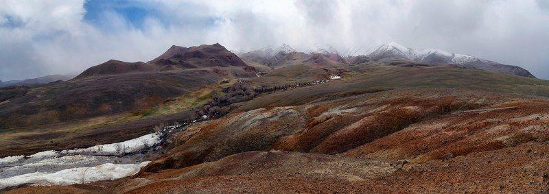 Горный Алтай Марсианский пейзажphoto preview