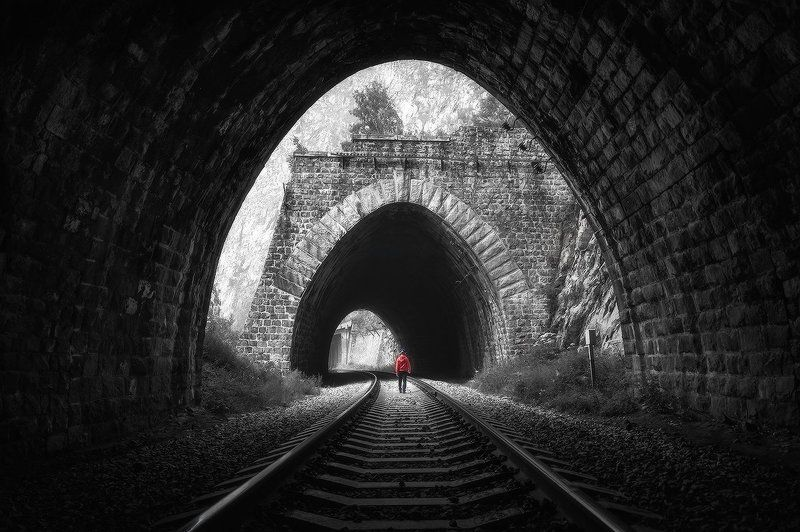 тоннель Тоннели Кругобайкалки...photo preview