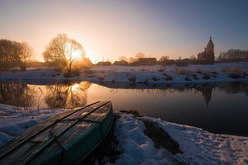 Март, морозное и солнечное утроphoto preview