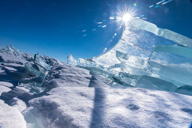 Байкал, лед, Ольхон Лед Байкалаphoto preview