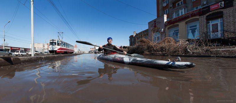 Наводнения. #ОмскЗа300photo preview