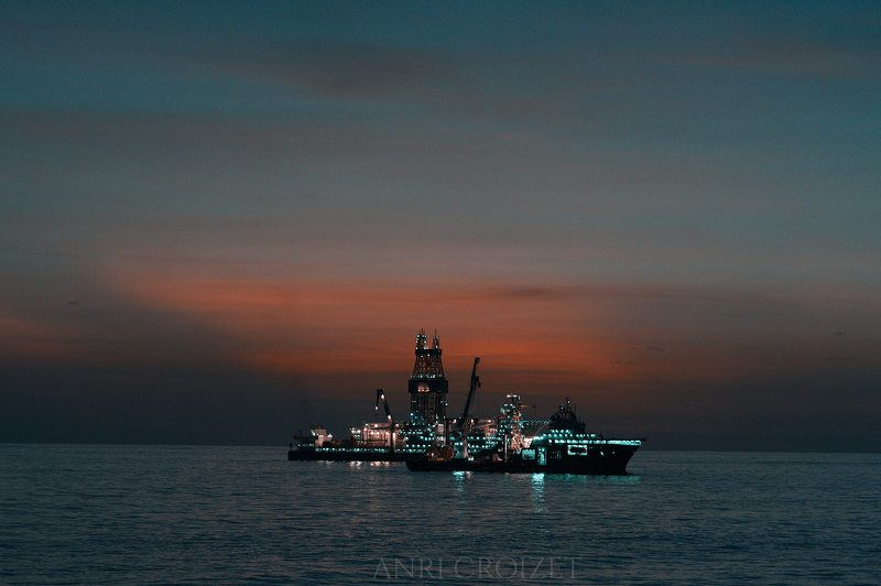 Oil Field Morning...photo preview