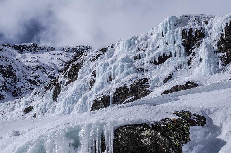 архыз, кавказ, водопад, гудовцов,  Ледовый мысphoto preview