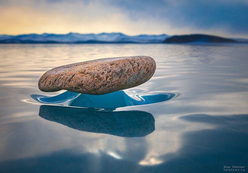 байкал, малое море, ольхон, лед, зима, Застывшие в полетеphoto preview