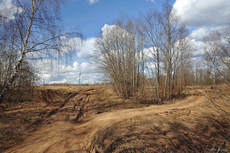 весна, дорога photo preview