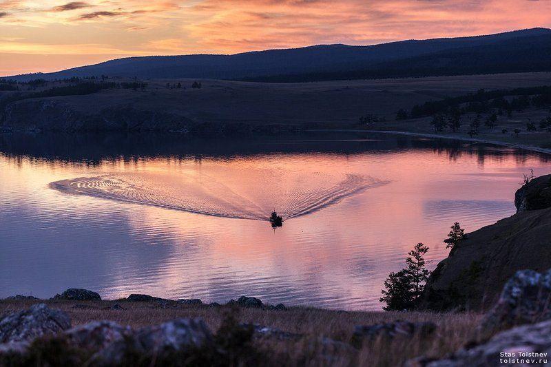 байкал, малое море, ольхон, На Байкале.photo preview