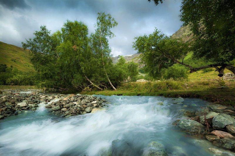 софийские водопады, архыз, карачаево-черкесия, кавказ Софийская седловинаphoto preview