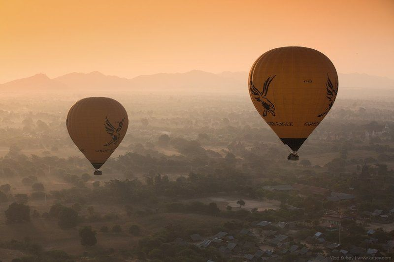 бирма, баган, мьянма, шары, высота, утро, рассвет, паган, воздушныйшар, myanmar, burma, pagan, bagan, balloons Полетphoto preview