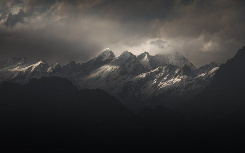 ganesh himal, himalaya, nepal, langtang, непал, гималаи, лангтанг Son of Shivaphoto preview